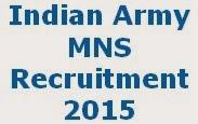 MNS Jobs 2015