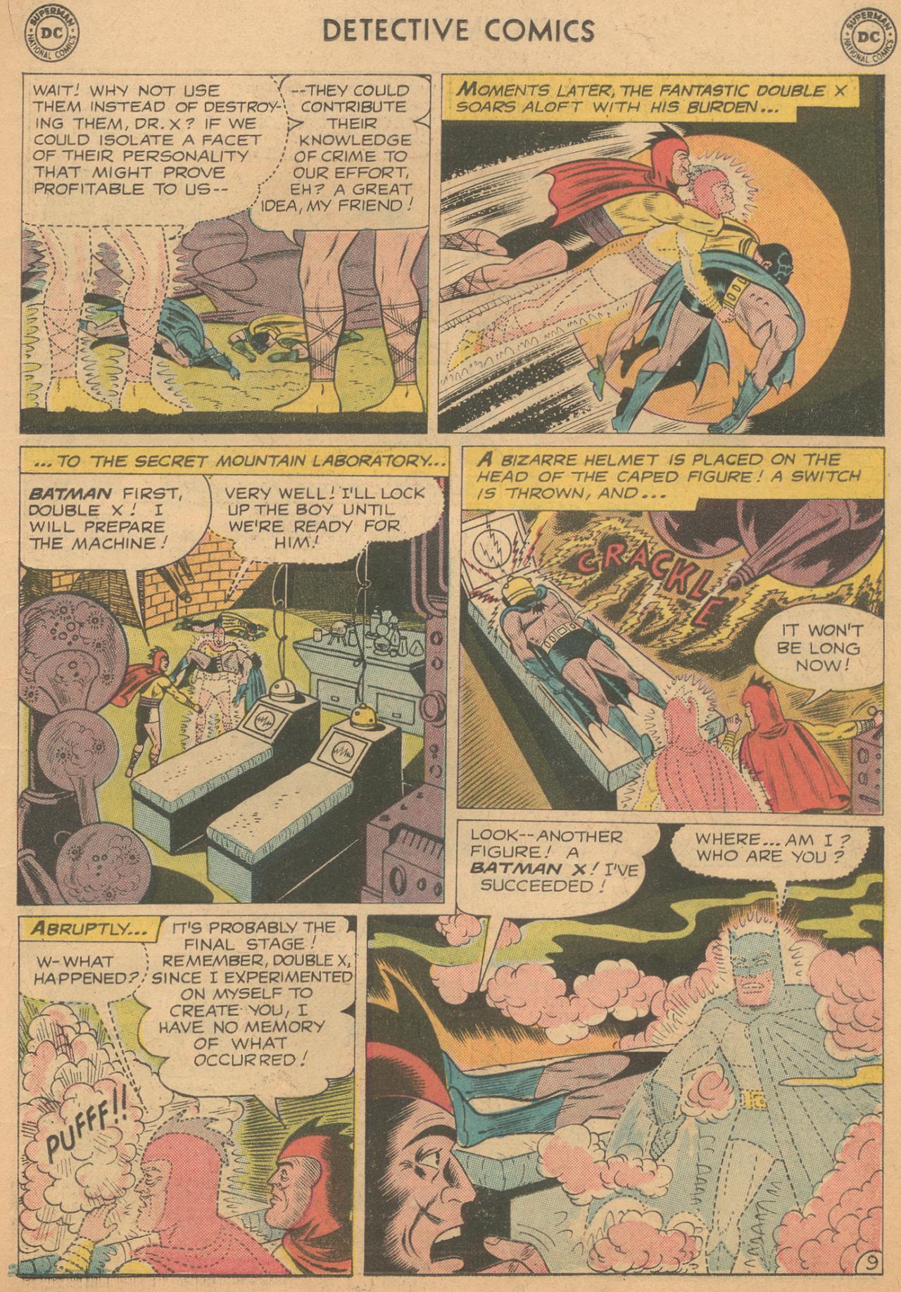 Read online Detective Comics (1937) comic -  Issue #261 - 11