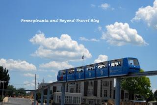 Hersheypark Monorail in Hershey
