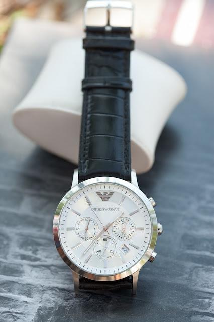 Đồng hồ đeo tay nam dây da Armani bán chạy nhất 2016