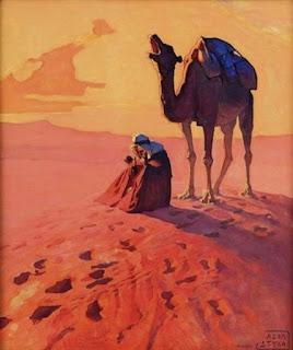 cuadros-vistas-camellos-caballos