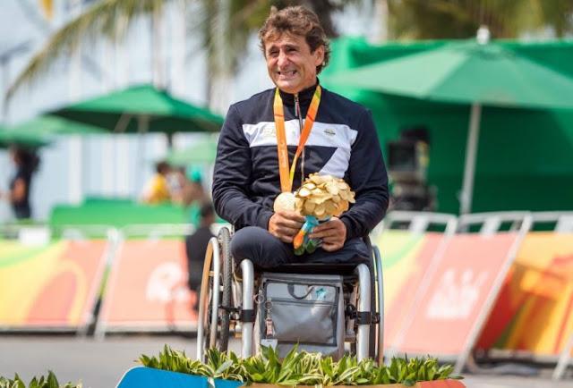 Zanardi gana su cuarta medalla paralímpica en Río