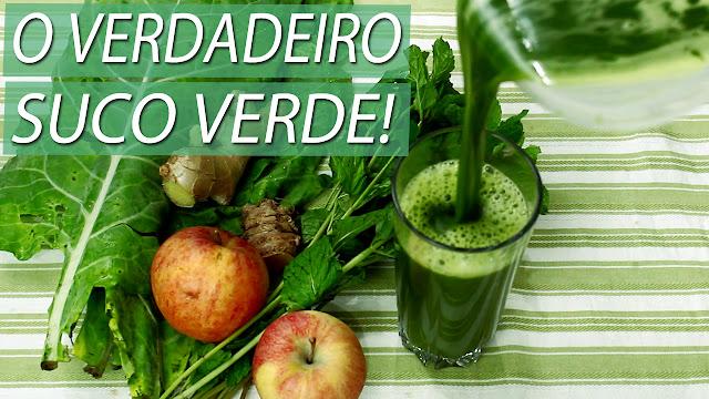Aprenda a Fazer o Verdadeiro Suco Verde | Medicinal e Detox | Benefícios para a sua saúde