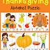 Free Thanksgiving Alphabet Puzzle