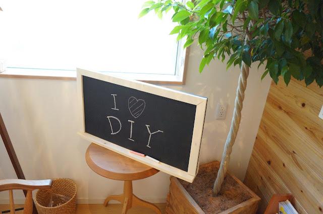 英国風・手作り黒板をアレンジ!おしゃれな部屋を演出しよう♡