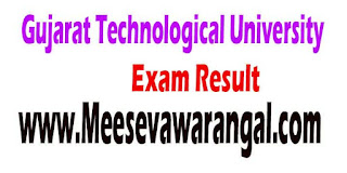 Gujarat Technological University BH Sem II Regular 2016 Exam Result
