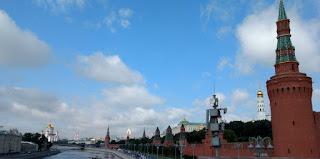 El Kremlin de Moscú.