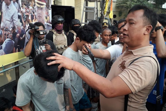 Polisi Tembak Mati Pimpinan Geng Kriminal Bad Boys di Jakarta Utara
