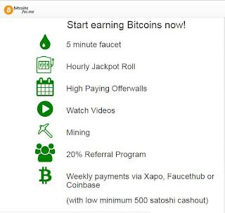 bitcoinsfor.me freedoge.co.in شرح اكثر من 15 موقع لجمع الساتوشي Satoshi bitcoin