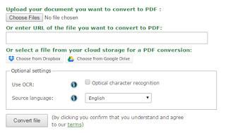 online document convert