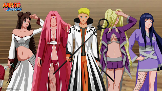Naruto Shippuden and Girls