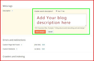 How to add Meta tags to your blog