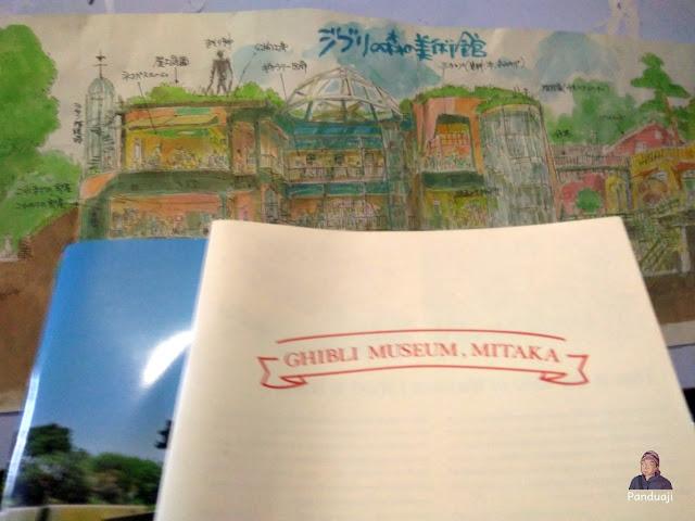 Oleh Oleh dari Ghibli Museum