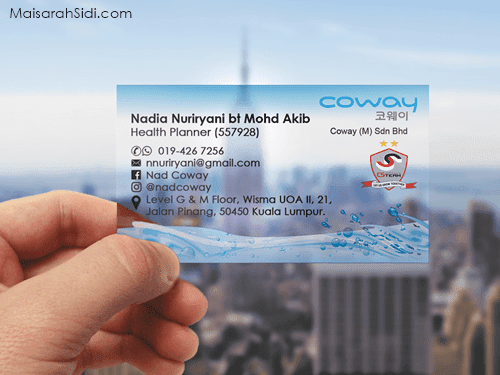 Frosted Plastic Card Malaysia