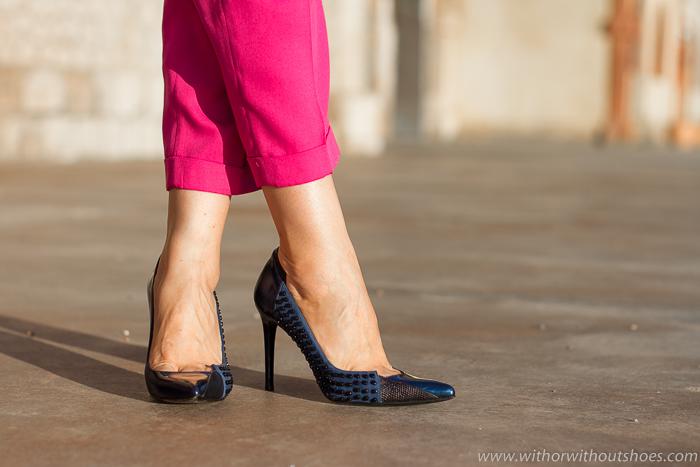 Zapatos charol cuero tachuelas Camila de MAGRITmade in spain
