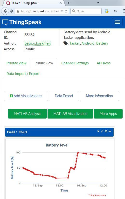 Petriojk stuff: Android data to Thinkspeak with Tasker HTTP Post