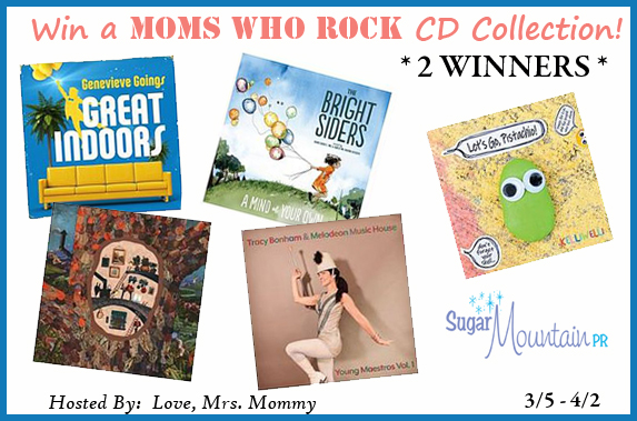 Moms Who Rock CD Giveaway