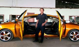 Ini Dia Sang Pemilik Sedan Bermuka Dua