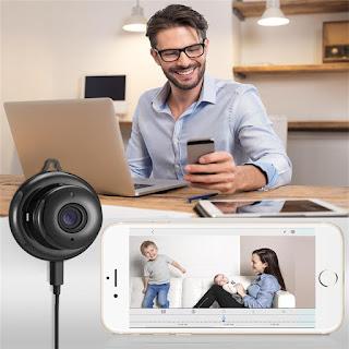 telecamera ip wireless tondo