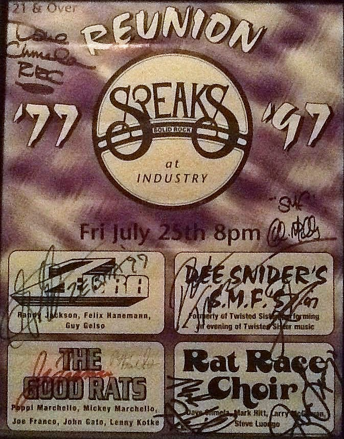 Speaks reunion show 1997 in Island Park, Long Island, New York