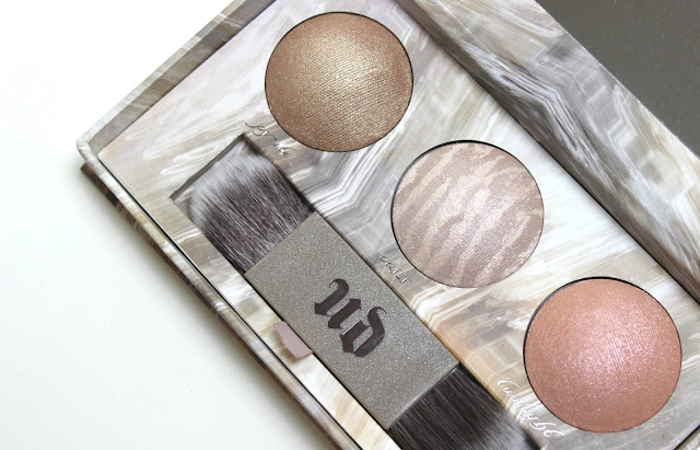 Urban Decay Naked Illuminated Trio Shimmering Powder for Face and Body Review