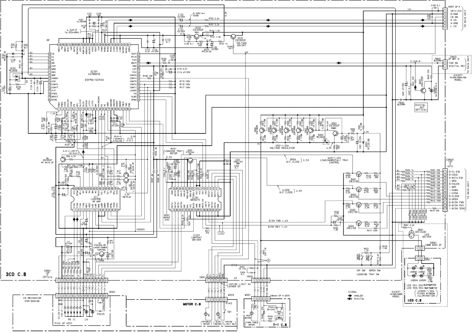 small resolution of aiwa cd mechanism 3 cd changer how to adjust the rotating phase wiring diagram