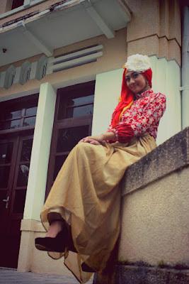 hunting modeling hijab foto hunting hijab motor