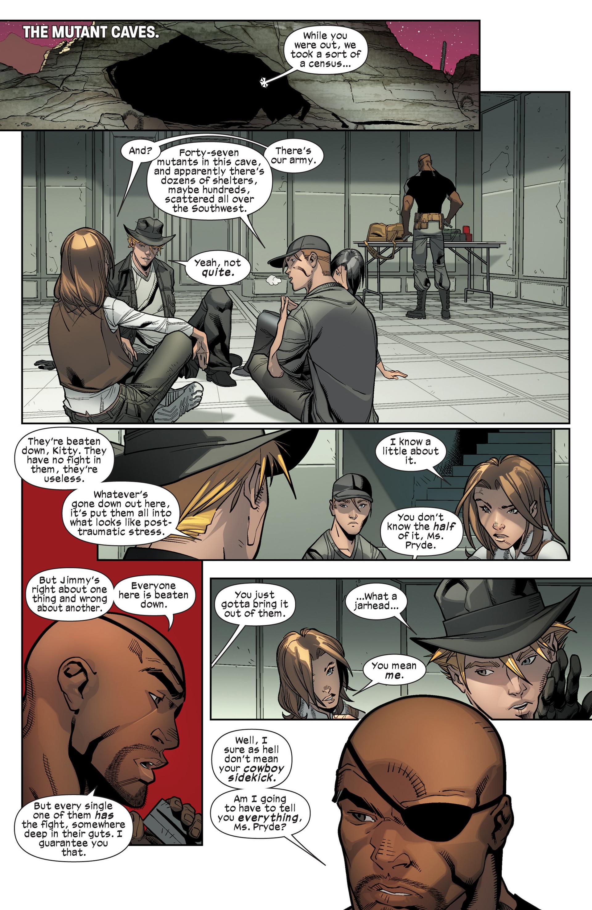 Read online Ultimate Comics X-Men comic -  Issue #16 - 13