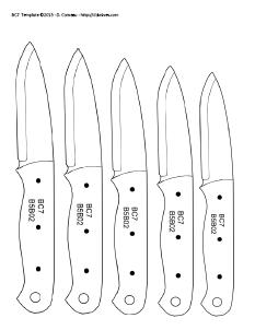 DIY Knifemaker's Info Center: Knife Patterns III