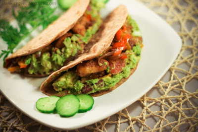 http://cravecookclick.com/whole-wheat-tortilla-with-grilled-chicken-guacamole-recipe/