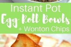 Instant Pot Egg Roll Bowls