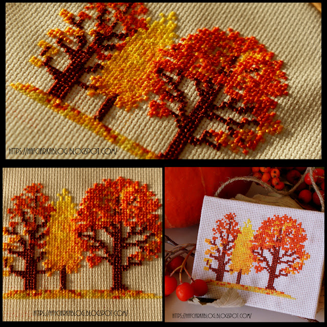 Jesienne drzewka