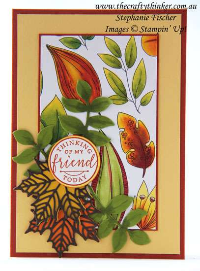 #thecraftythinker, #stampinup, #masculinecard, #cardmaking, Stampin' Blends, Masculine card, Just Add Color, Seasonal Layers, Stampin' Up Australia Demonstrator, Stephanie Fischer, Sydney NSW