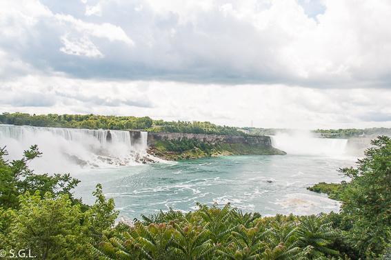 Las cataratas del Niagara. Canada y USA