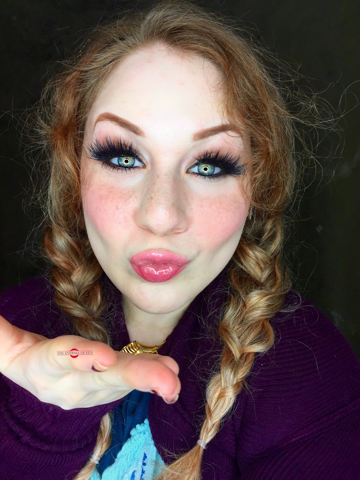 Frozen princess anna halloween makeup tutorial cosplay inspired taking a zoomed in view at annas facial features and at whatever makeup she might be wearing easily anyone of any skill level could replicate her look baditri Image collections