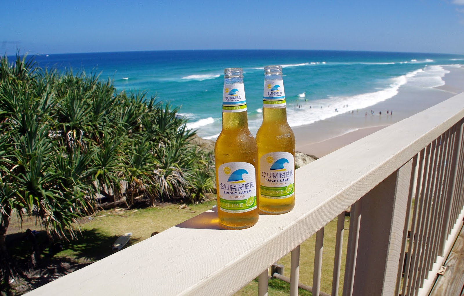 Drinks at Main Beach Surf Club Stradbroke Island