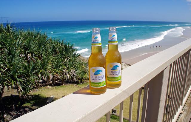 Drinks at Main Beach Surf Club Stradbroke Island