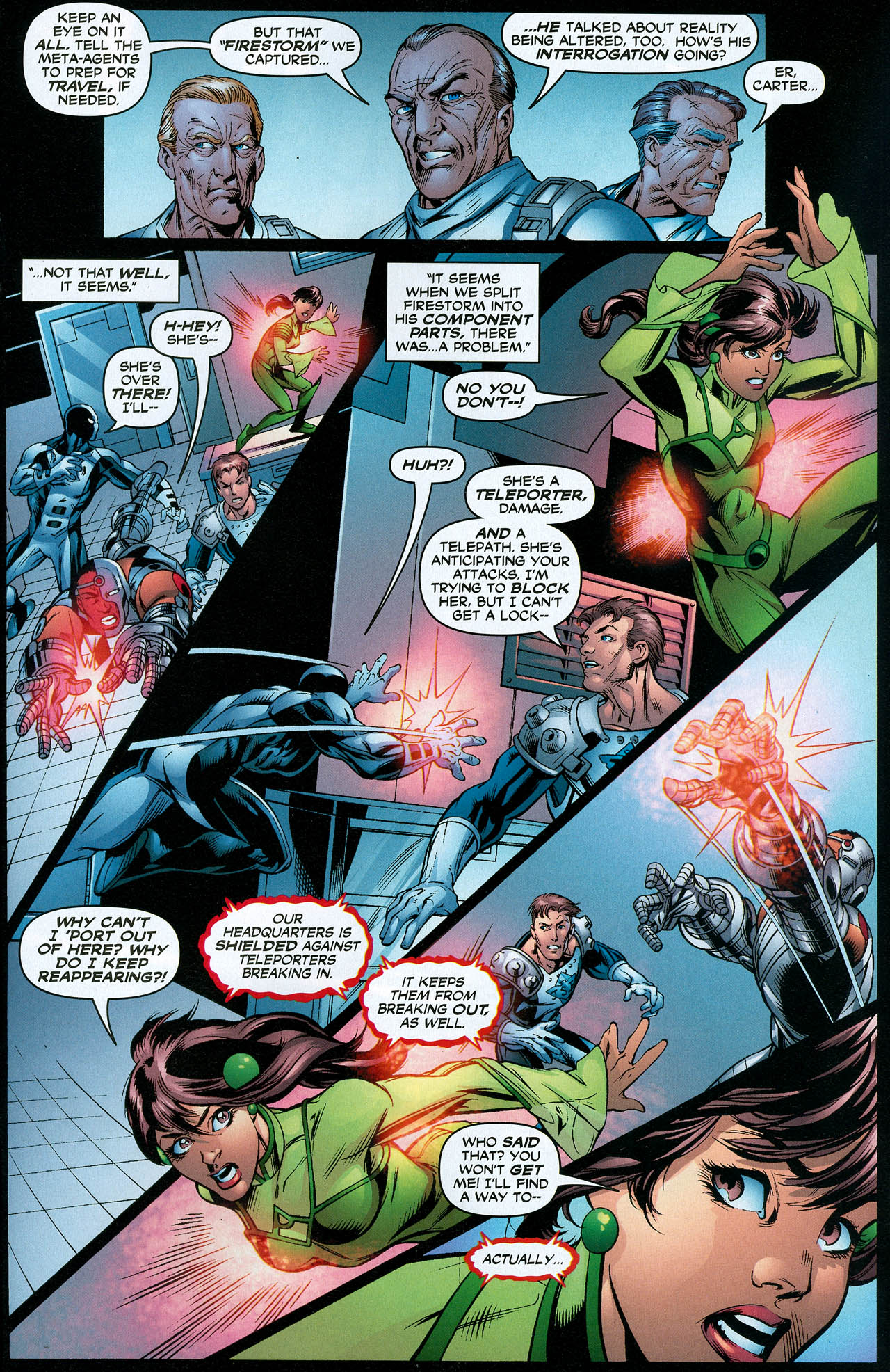 Read online Trinity (2008) comic -  Issue #22 - 25