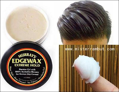 Karakteristik Pomade Murray's Edgewax Extream Hold