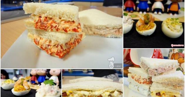 ideas de rellenos para sandwiches canaps tartaletas y huevos rellenos el saber culinario