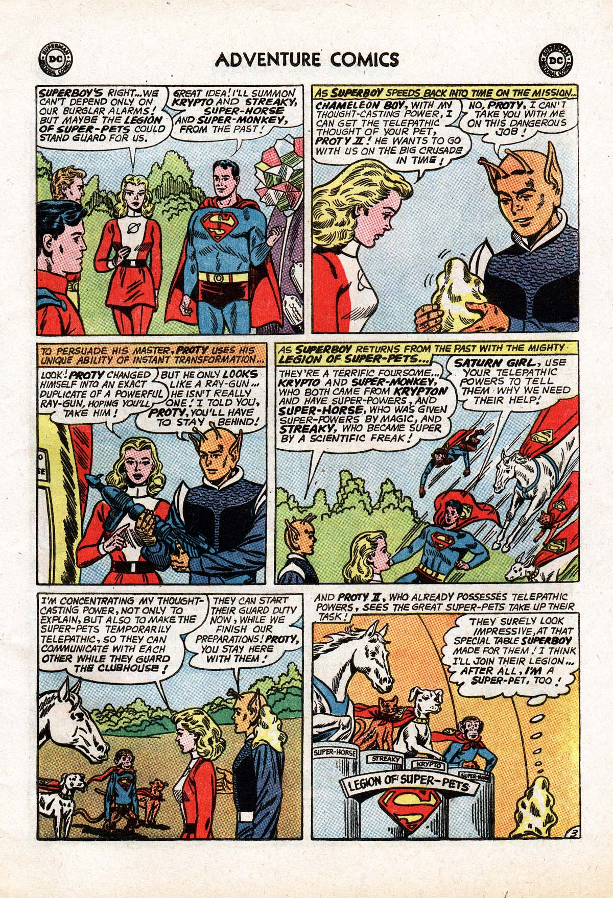 Read online Adventure Comics (1938) comic -  Issue #322 - 5