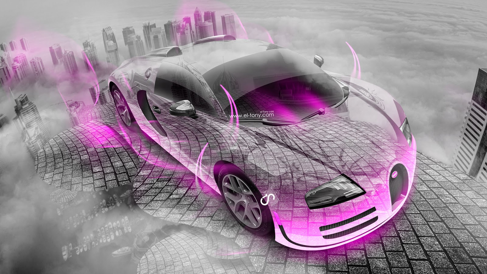 Gentil Bugatti Verona Green Neon Tiger Fantasy Plastic Car 2017 Hd  Wallpaper Pink Bugatti Verona Wallpaper