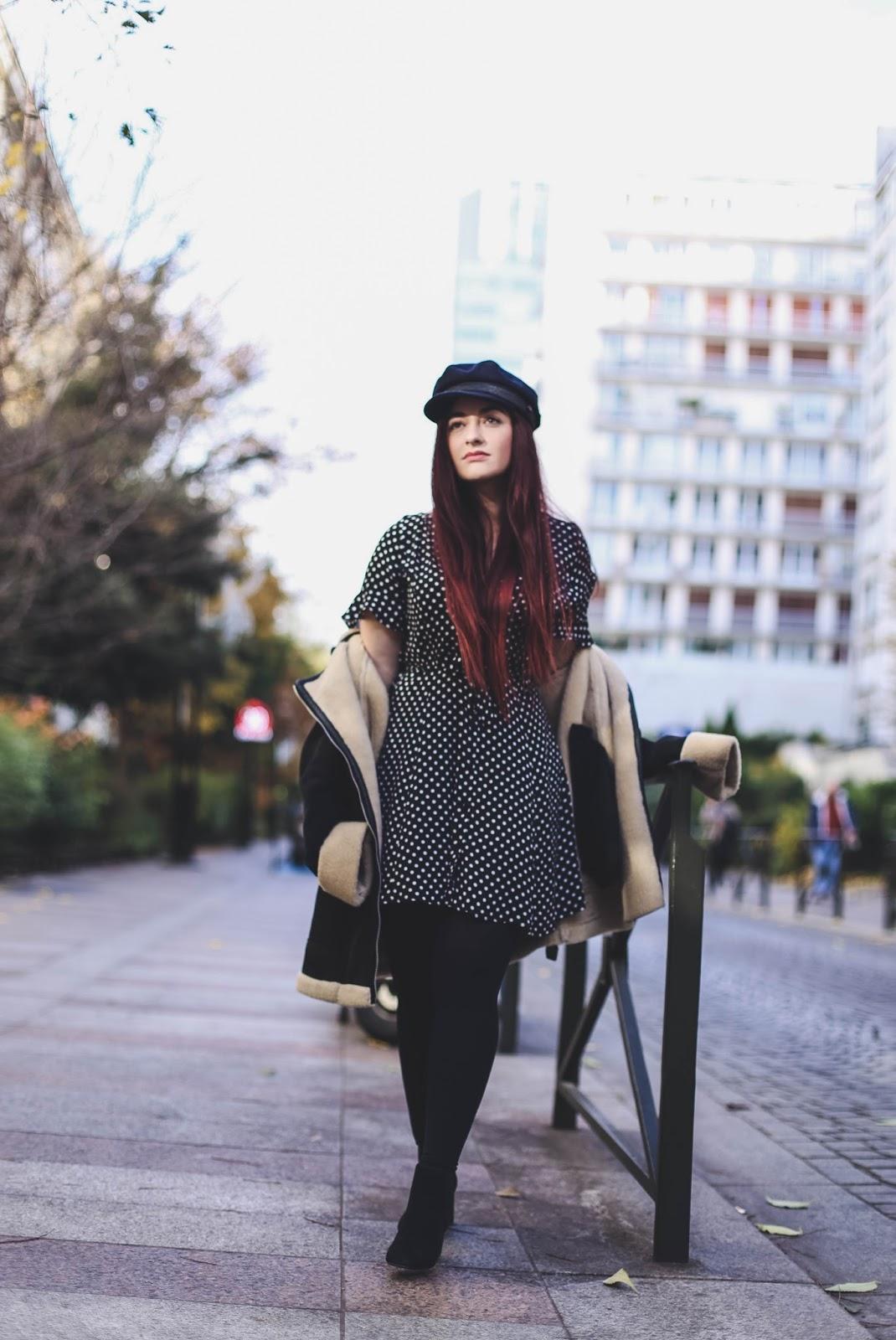 robe à pois retro blog mode