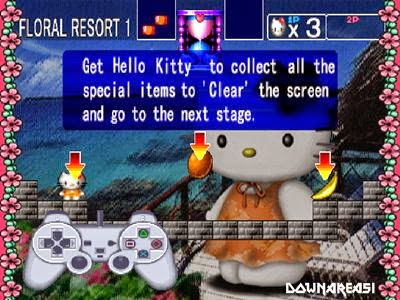 games for girls hello kitty ps1
