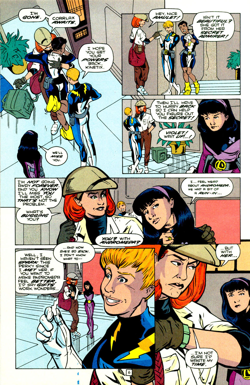 Legion of Super-Heroes (1989) 70 Page 7