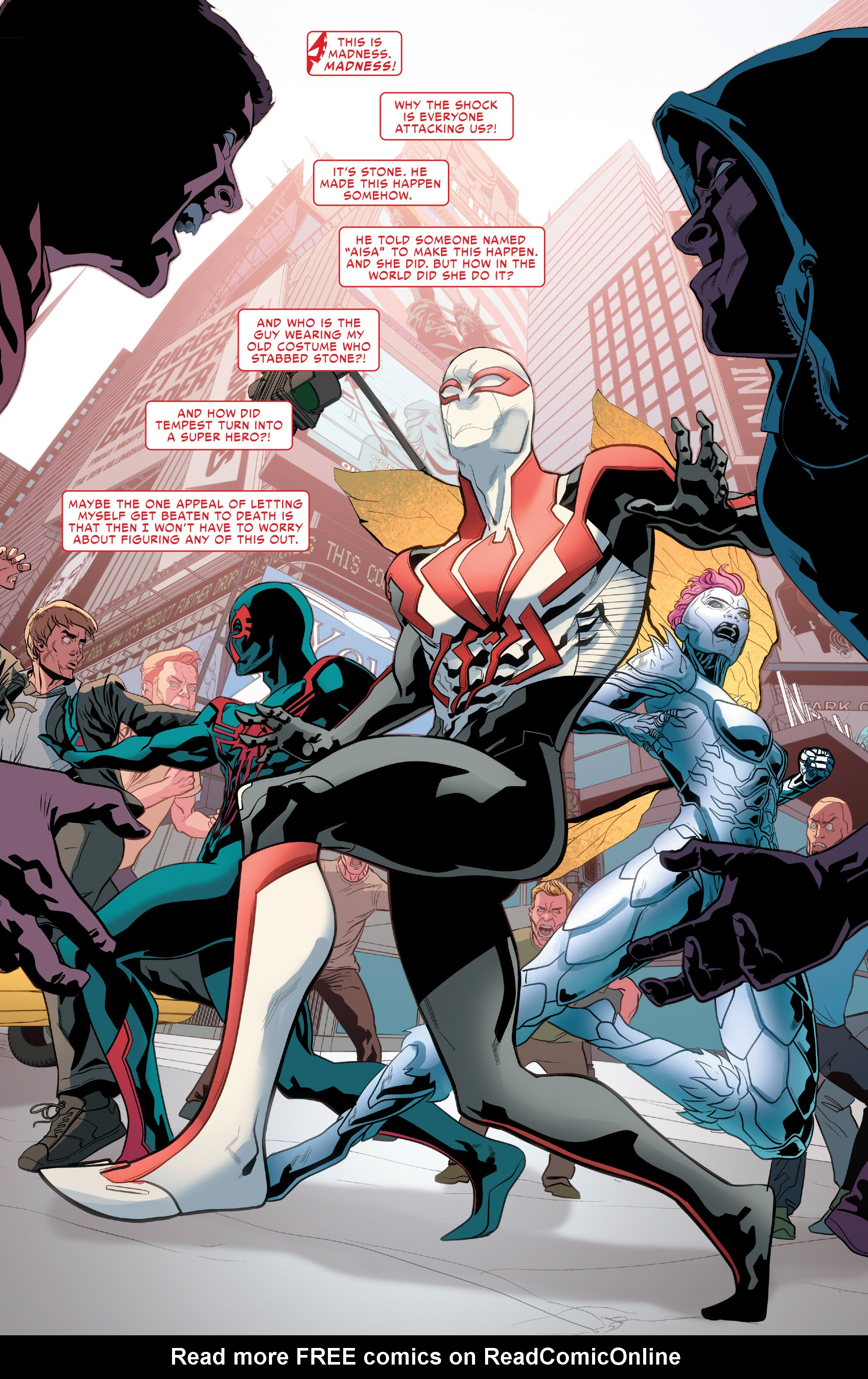 Read online Spider-Man 2099 (2015) comic -  Issue #24 - 3