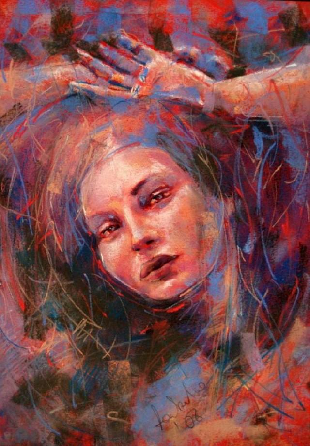 Изобразительное искусство в пастели