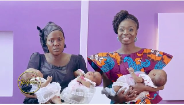 Stacy Amoateng Begs For Money To Help Widow With Triplets And Four Other Kids