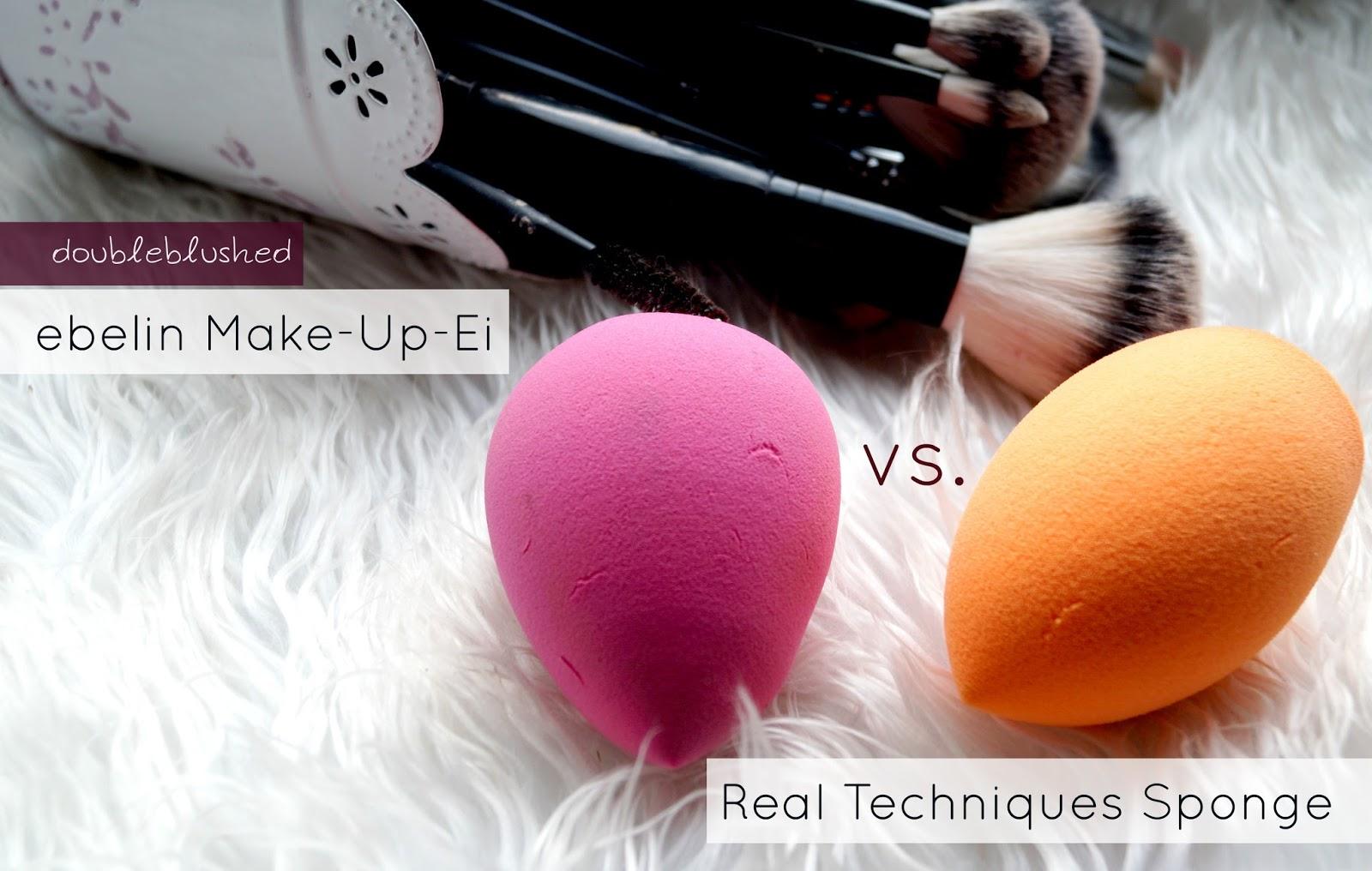double blushed ebelin make up ei vs real techniques sponge. Black Bedroom Furniture Sets. Home Design Ideas