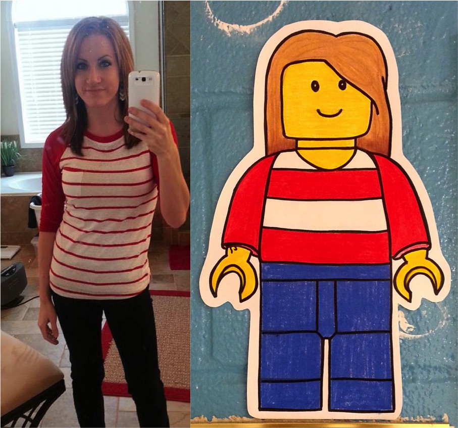Lego-style Self-Portraits (3rd/4th) - Art with Mrs. Nguyen